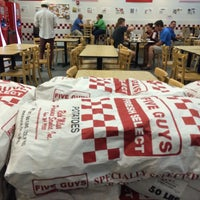 Photo taken at Five Guys by Eric A. on 9/19/2015