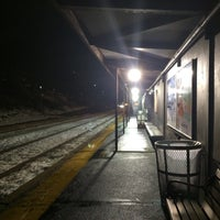 Photo taken at Newtonville MBTA Commuter Rail by Eric A. on 2/11/2016