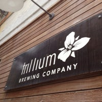 Photo taken at Trillium Brewing Company by Eric A. on 7/10/2013