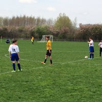 Photo taken at Merchant Field Soccer Complex by Eric A. on 5/10/2014
