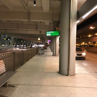 Photo taken at RDU - Rental Shuttle Stop Zone 18 by Eric A. on 1/25/2017