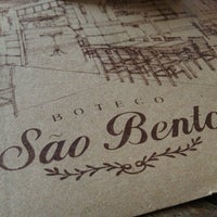 Photo taken at Boteco São Bento by Eric A. on 7/21/2013