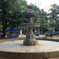 Photo taken at Chafariz do Largo do Pará by Eric A. on 7/27/2013