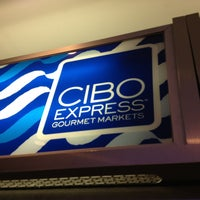 Photo taken at CIBO Express Gourmet Market by Eric A. on 2/18/2013
