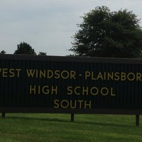 Photo taken at West Windsor Plainsboro High School South by Eric A. on 8/19/2013