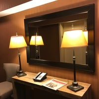 Photo taken at DoubleTree by Hilton Raleigh-Durham Airport at Research Triangle Park by Eric A. on 2/1/2017
