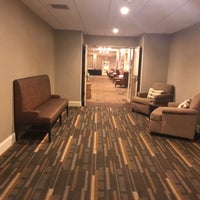 Photo taken at DoubleTree by Hilton Raleigh-Durham Airport at Research Triangle Park by Eric A. on 3/2/2017