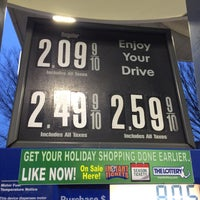 Photo taken at Mobil by Eric A. on 1/22/2016
