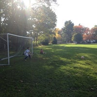 Photo taken at Cole Center Soccer Fields South by Eric A. on 10/17/2013