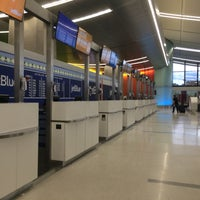 Photo taken at jetBlue Ticket Counter by Eric A. on 6/12/2016