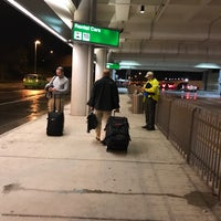 Photo taken at RDU - Rental Shuttle Stop Zone 18 by Eric A. on 3/2/2017