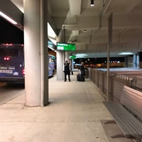 Photo taken at RDU - Rental Shuttle Stop Zone 18 by Eric A. on 2/13/2017
