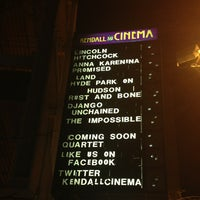 Photo taken at Kendall Square Cinema by Eric A. on 1/3/2013