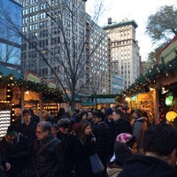 Photo taken at Union Square Holiday Market by Eric A. on 11/29/2015