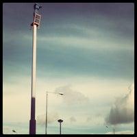 Photo taken at Belfast Circus School by aya m. on 10/16/2012
