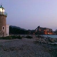 Photo taken at Faros Drepano by Nestoras S. on 8/14/2013