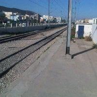 Photo taken at Gare Tahar Sfar by Marwen T. on 11/21/2012