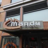 Photo taken at Mandu by Sergey S. on 1/13/2013