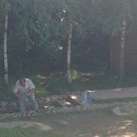 Photo taken at Святой Источник в честь Федоровской иконы Божией Матери by Olga Z. on 7/29/2014
