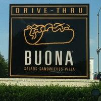 Photo taken at Buona by Misty H. on 7/13/2013