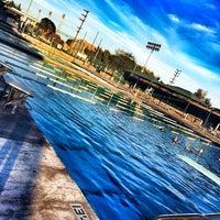 Photo taken at LAVC Aquatics Center by Milena M. on 7/12/2014