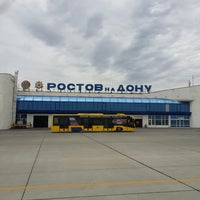 Photo taken at Rostov-on-Don Airport (ROV) by Konstantin M. on 6/16/2013