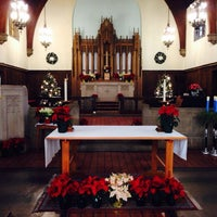 Photo taken at Episcopal Church of the Advent by Todd v. on 12/25/2013