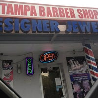 Photo taken at Tampa Barber Shop by Yomi Y. on 2/24/2013