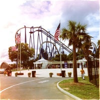 Photo taken at Carowinds by Brian Z. on 7/4/2013