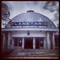 Photo taken at Planetario Germán Barbato by Cesar G. on 7/12/2013