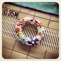 Photo taken at Onehunga War Memorial Pools by Sprout T. on 3/8/2013