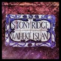 Photo taken at Stonyridge Vineyard by Sprout T. on 7/16/2013