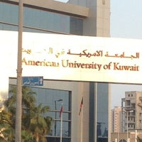 Photo taken at American University of Kuwait by Haadi S. on 10/11/2012