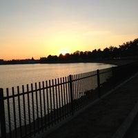 Photo taken at Lake Montebello by Brooke P. on 3/3/2013