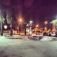 Photo taken at Praça Palmares by Leandro B. on 5/10/2013