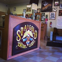 Photo taken at Stay Gold Barber Shop by Mike D. on 7/26/2013