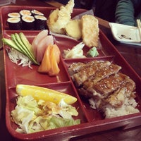 Photo taken at Sushi Bang by Miyu S. on 12/4/2013