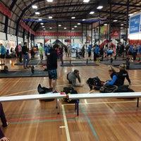 Photo taken at North Sydney Indoor Sports Centre by Juan Ignacio M. on 8/30/2014