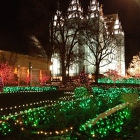 Photo taken at Temple Square by Perry S. on 12/12/2012