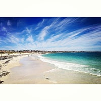 Photo taken at Cottesloe Beach by Franchezka E. on 7/11/2013