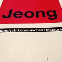 Photo taken at Jeong Restaurant by R0B on 10/5/2012