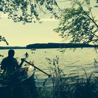 Photo taken at Großer Stechlinsee by R0B on 6/8/2014