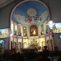Photo taken at National Shrine of Our Lady of Lourdes by Jupiter K. on 12/30/2012