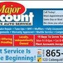 Photo taken at Major Discount Auto by Derek K. on 8/8/2014