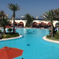 Photo taken at Sentido Djerba Beach by Allaguy M. on 8/19/2013