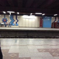 Photo taken at Al Shohadaa Metro Station by Mohamed A. on 10/6/2013