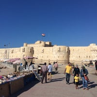 Photo taken at Citadel of Qaitbay by Mohamed A. on 5/10/2014