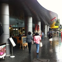 Photo taken at Strathfield Plaza by HYUN SU K. on 4/3/2013