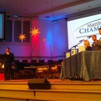Photo taken at Carmel Baptist Church by Jenni W. on 12/12/2012