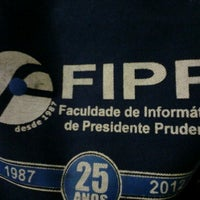Photo taken at FIPP - Faculdade de Informática de Presidente Prudente by Silmara B. on 11/20/2012